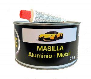 Masilla, masilla carrocero, masilla para metal, masilla fibra de vidrio, masilla alumino, masilla flexible, masilla de relleno