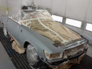 refinishparn, cars, painting, spray painter, basfrefinish, coches, mercedes