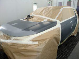 discovery empapelado, coche preparado para pintar