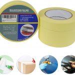 cinta carrocero, plastico con cinta, papel empapelar, tapar coche, consumibles taller, chapa y pintura