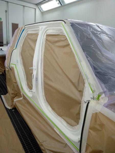 pintar interiores carroceria range rover autabiography