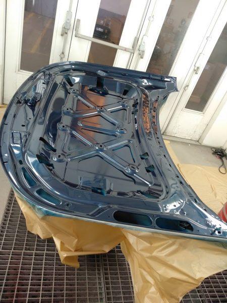 interiores capot delantero pintado range rover