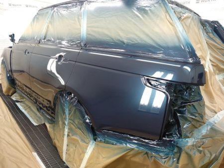 lateral izquerdo barnizado del range rover sport