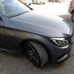 Mercedes benz acabado mate